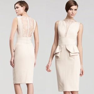 Elie Saab Perla Lace Inset Dress EUR 38 - US 8